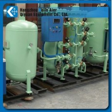 oxygen plant for sewage purification