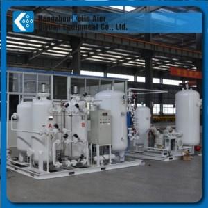 PSA O2 plant for sewage purification