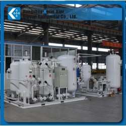 PSA O2 plant for sewage purification