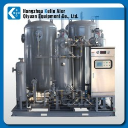 PSA nitrogen gas making plant for fruit preservation