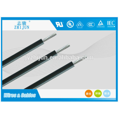 6000V High voltage silicone rubber coated insulation electric cable ...