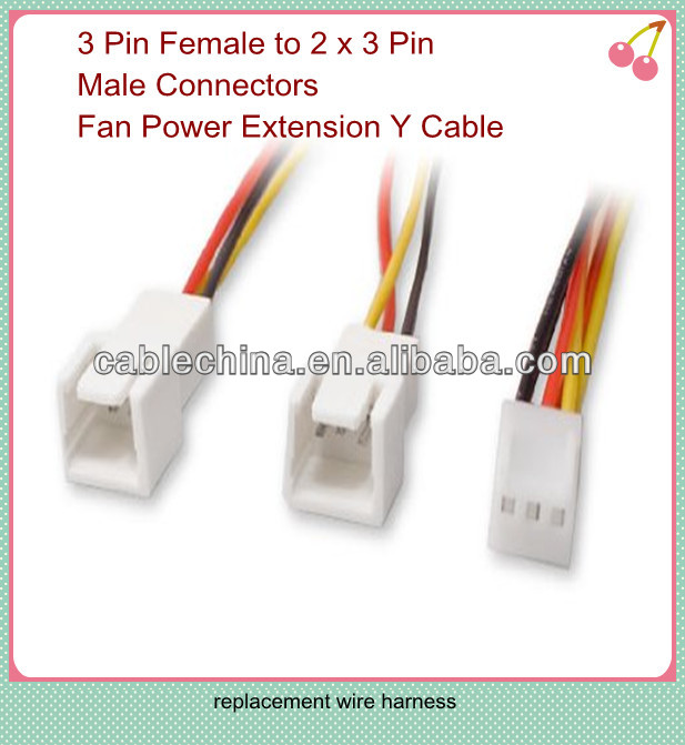 4pin 4 2mm male to female molex computer internal wiring harness 4pin 4 2mm male to female molex computer internal wiring harness