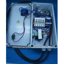 Custom assembly of electrical cabinets