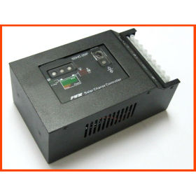 Hybrid solar charge controller with city electric alternative