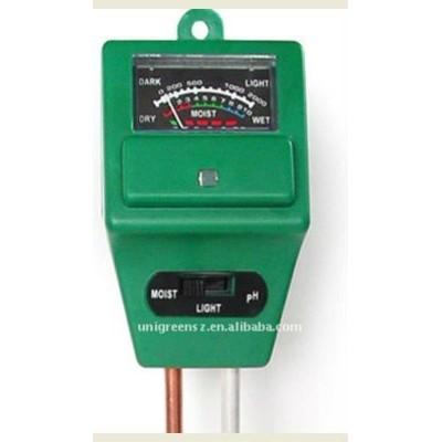 3 in 1 moisture light ph meter