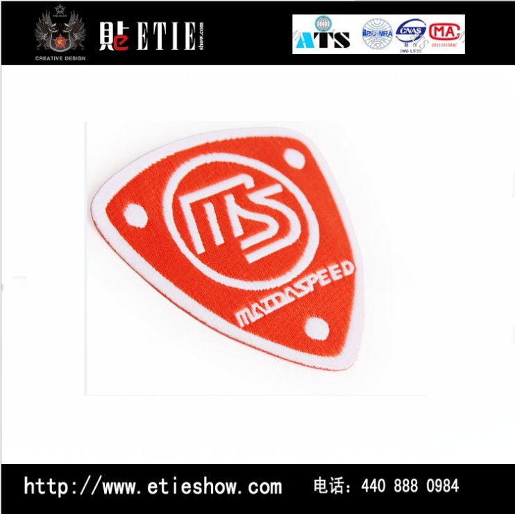 Mazda Speed Embroidery Shield Badge Patch Badge China