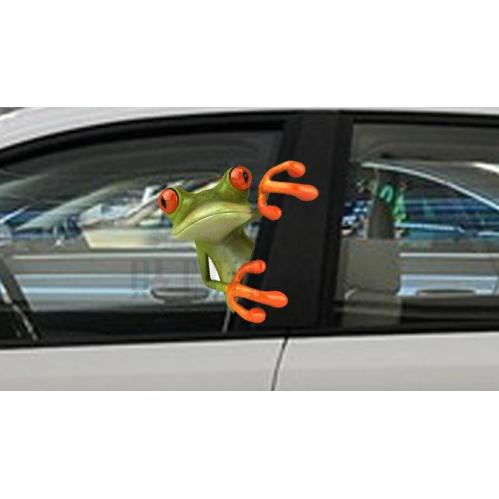 Window Static Cling Window Film Cartoon Car Window