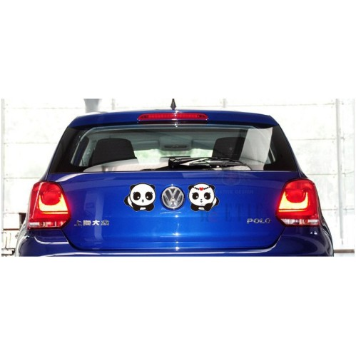 La personalidad 40 18cm divertido reflectante de dibujos for Vinilo adhesivo coche