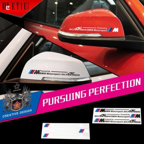 Bmw ac pvc vinyl printing mirror adhesive paper car for Sticker miroir adhesif