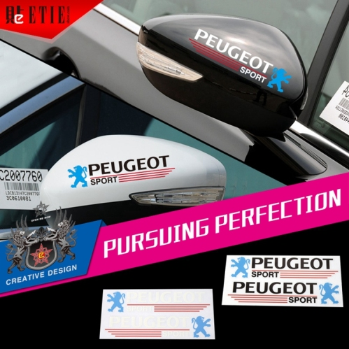 Peogeot factory direct rearview mirror car styling for Sticker miroir adhesif