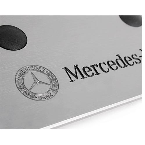 Benz pedal aluminio pegatinas antideslizantes etiqueta for Pegatinas pared personalizadas