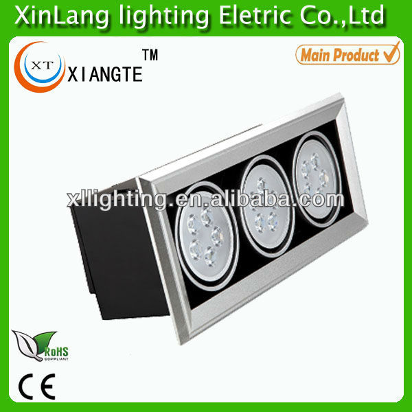 Led Ceiling Lights Made In China : New high brightness power w led grille