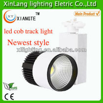 2013 led cob track light 30w with 2 years warrranty made in china