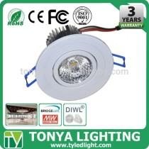 COB LED downlight 80mm cutout CE ROHS hot new products for 2015 down lights