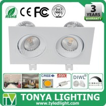 shenzhen factory LED Cree COB Downlight 15w CE ROHS down light led for home