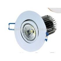 COB LED downlight 80mm cutout CE ROHS 5/7/9/11watt led down light