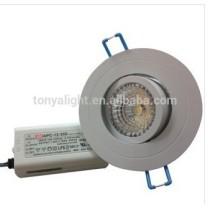 COB LED downlight 80mm cutout CE ROHS 5/7/9/11watt led down light COB