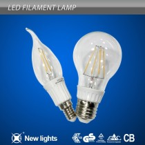 dimmable led filament bulb A60/A19