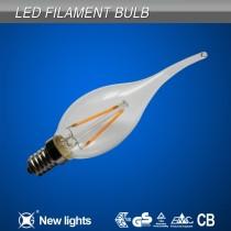 New products E14 led 4w 2700k filament led candle bulb