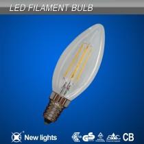High Brightness 2W 4W Filament Tail Led with E14 base