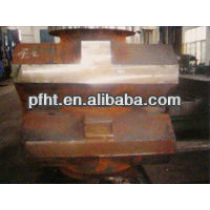 supply petroleum machinery part with low carbon or alloy steel in ex-factory price(bop shell)