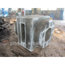 oilfield equipment fittings with co2 sand casting