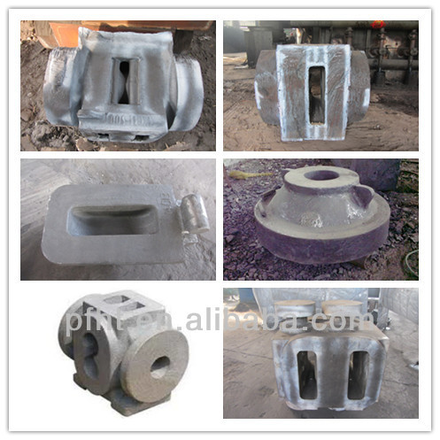 petroleum machinery cast part with ISO9001:2008 certificate