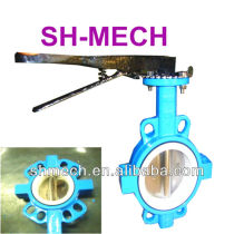 Wafer type 125/150# Butterfly Valve with Pin