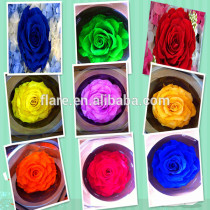 preserved flowers in gift box