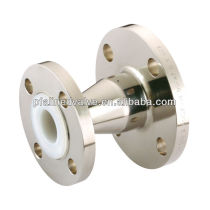 Carbon Steel and Stainless Steel PFA Teflon (R) Lined Chemical Resistance Fluid Anti Corrosion Concentric Reducers Fittings