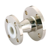 Taiwan Sulfuric acid FRP Tank HP API Specialty Chemical System WCB Stainless steel PFA teflon (R) Lined Reducer fitting