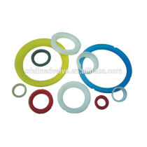 Taiwan High Quality Molding and CNC Machined PTFE Teflon (R) BAll valve seat Inserts Parts