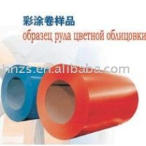 Colored coating steel plate
