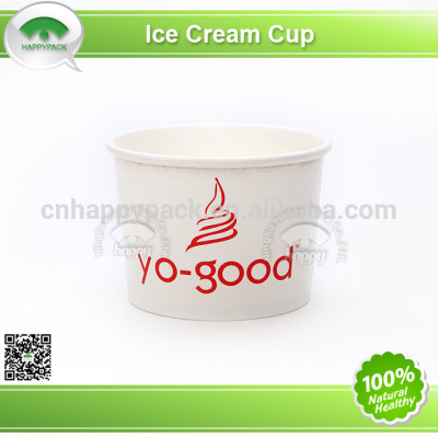 White ice-cream paper cup with high quality