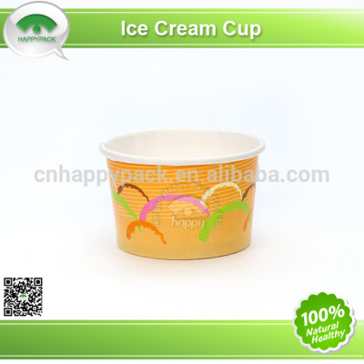 Fashion ice-cream paper cup with high quality