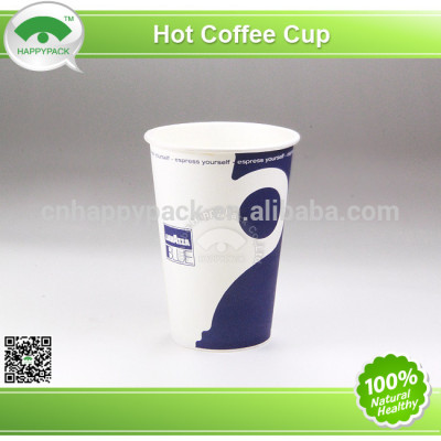 2014New design vending paper cup with lid