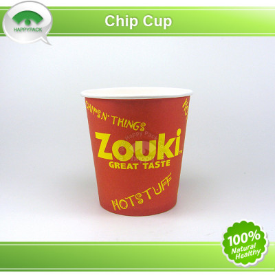 Disposable Printed Hot Chip Paper Cup