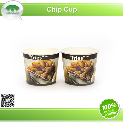 Disposable Enviroment Hot Chip Paper Cup