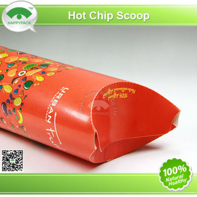 Disposable Hot Chip Paper Scoop