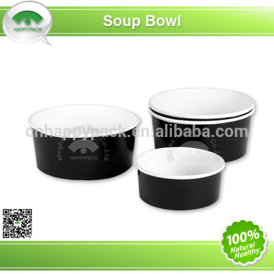 2014 New design disposable printed paper soup bowl