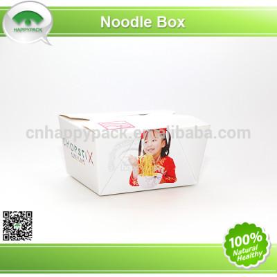 Disposable coloured paper food pail