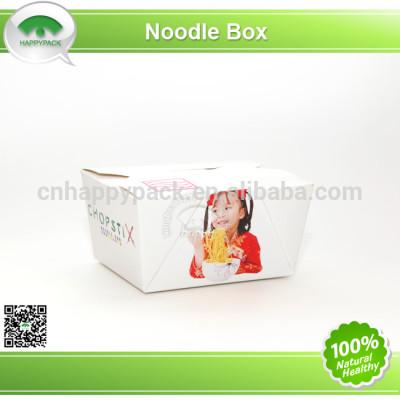Disposable printed paper take away box