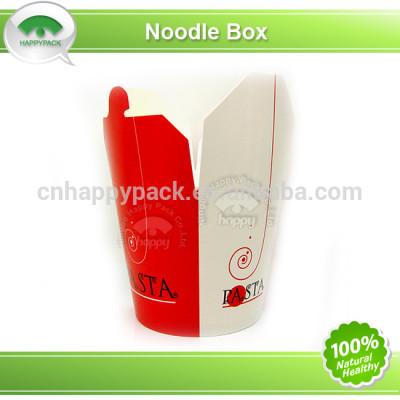 2014 New design disposable paper noodle box