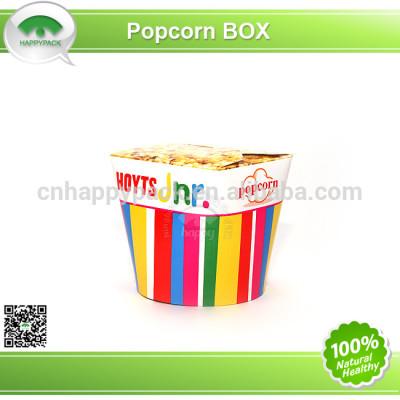 Disposable printed paper food pail