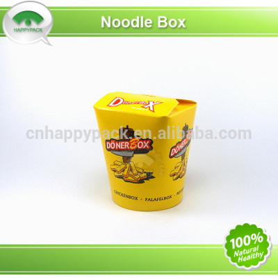 Good quality disposable paper food pail