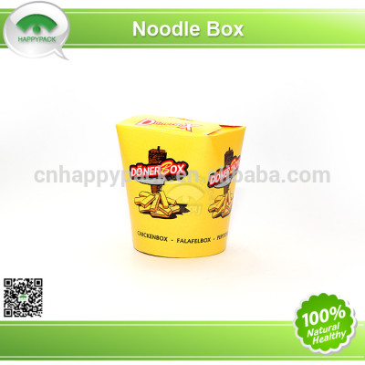 New design disposable printed paper noodle box
