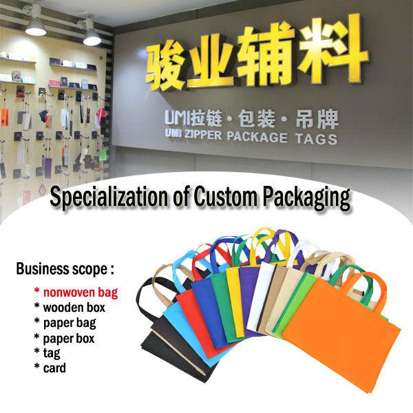 customized recycled shopping promotional laminated fabric