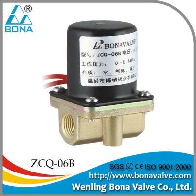 BONA Brass Solenoid Valve for Welding Machine Wire Feeder ZCQ-06B