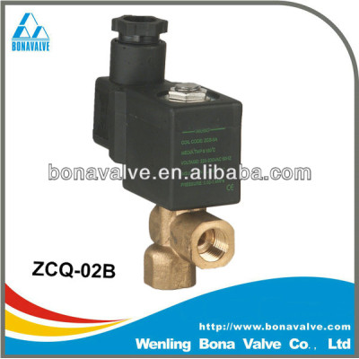 2 way solenoid valve for steam and hot water (ZCQ-02B)