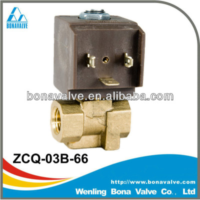 brass solenoid valve for steam and hot water (ZCQ-03B-66)